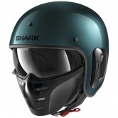 SHARK S-Drak 2 Blank Green / Green Metal
