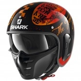 SHARK S-Drak 2 Tripp In Black Orange / Orange
