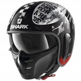 SHARK S-Drak 2 Tripp In Black White / Red