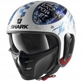 SHARK S-Drak 2 Tripp In White / Blue / Red