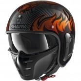 SHARK S-Drak Carbon 2 Dagon Carbon / Orange / Orange
