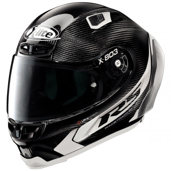 Helm X-LITE X-803 RS Ultra Carbon Hot Lap Black / White