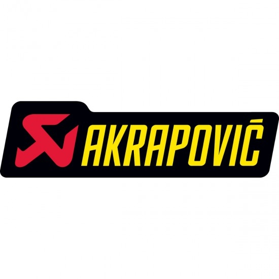 Autocollant AKRAPOVIC P-HST6AL