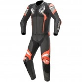 ALPINESTARS Atem V4 Black / Mid Grey / Red Fluo