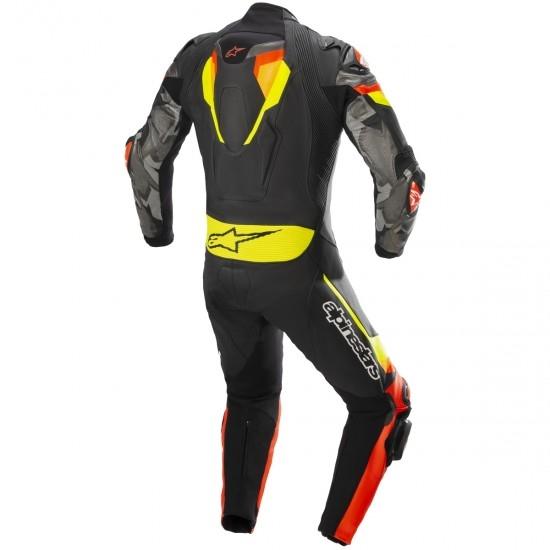 Anzug / Kombi ALPINESTARS Atem V4 Professional Black / Red Fluo / Yellow Fluo