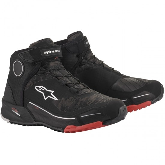 Botas ALPINESTARS CR-X Drystar Black / Camo Red