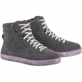 ALPINESTARS Stella J-6 Waterproof Lady Light Gray / Fuchsia
