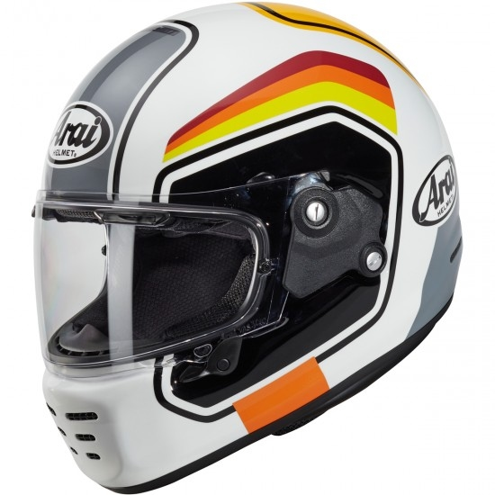 ARAI Concept-X Number White Helmet