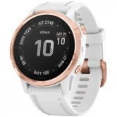 GARMIN Fēnix 6S Pro Rose Gold with White Band