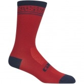 Comp Racer High Rise Dark Red Lines