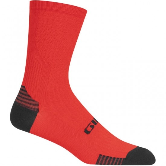 Calcetines GIRO HRC+ Grip Red