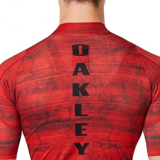 OAKLEY Aero Jersey Fired Forest Jersey