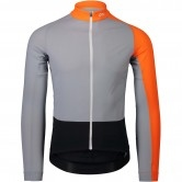POC Essential Road Mid LS Granite Grey / Zinc Orange