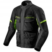 REVIT Outback 3 Black / Neon Yellow