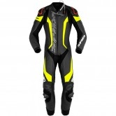 Laser Pro Perforated Professional Black / Yellow Fluo