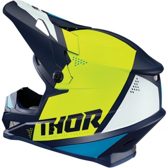 THOR Sector Blade Navy / Acid Helmet