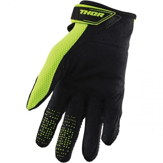 THOR Spectrum Black / Acid Gloves