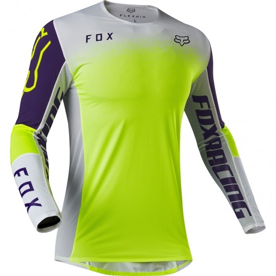 Jersey FOX Flexair 2020 Honr LE Purple / Yellow Anaheim