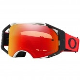 OAKLEY Airbrake MX Red / White Prizm MX Torch Iridium