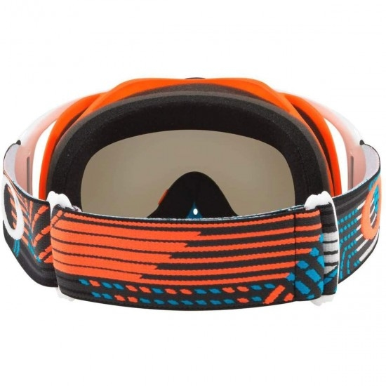 Lunettes OAKLEY Crowbar MX Circuit Orange / Blue Dark Grey