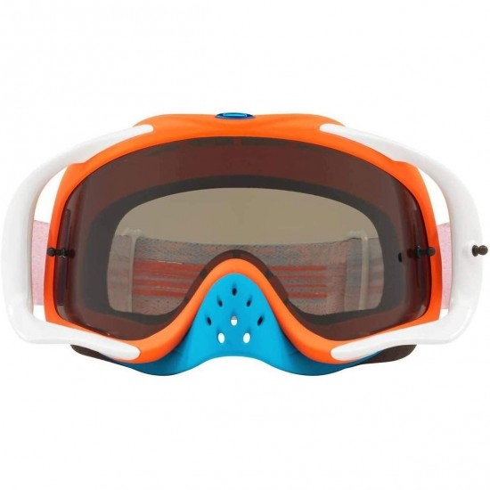 OAKLEY Crowbar MX Circuit Orange / Blue Dark Grey Goggles