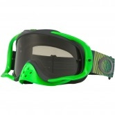 OAKLEY Crowbar MX Shockwave Green Yellow Dark Grey