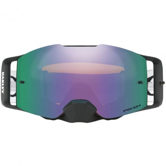 Máscara / Gafas OAKLEY Front Line Matte Black Speed Prizm MX Jade Iridium