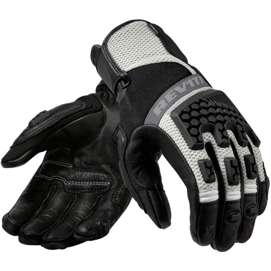 Handschuh REVIT Sand 3 Lady Black / Silver