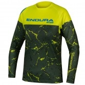 ENDURA MT500 Junior L/S Limited Edition Lime Green