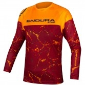 ENDURA MT500 Junior L/S Limited Edition Tangerine