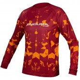 ENDURA MT500 Kali L/S Limited Edition Rust Red