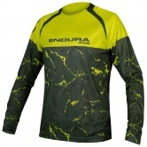 ENDURA MT500 Marble L/S Limited Edition Lime Green