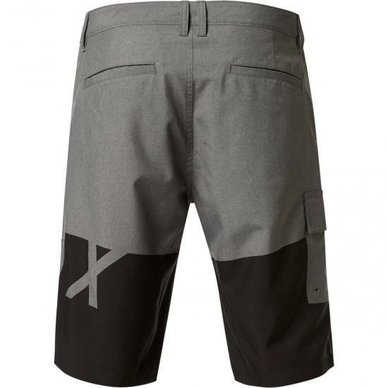 Pantalon FOX Essex Tech Print Heater Graphite