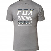 FOX Full Count Premium Heather Graphite