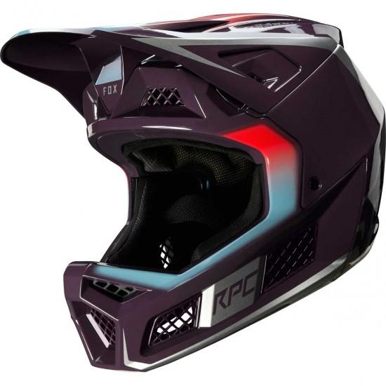 Casque FOX Rampage Pro Carbon Daiz Dark Purple