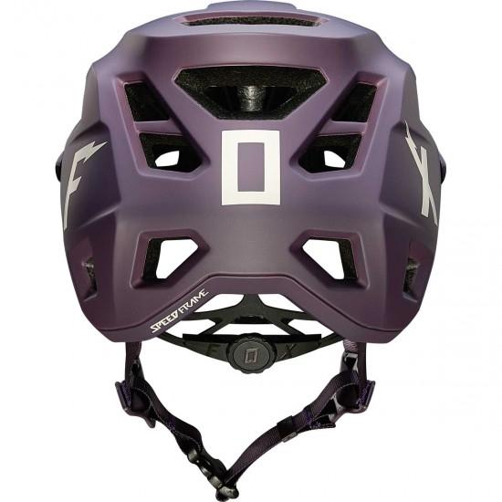 Casco FOX Speedframe Wurd Dark Purple