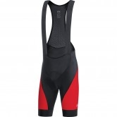 C3 Bib Shorts+ Black / Red