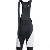 C3 Bib Shorts+ Black / White