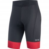 GORE C3 Lady Short Tights + Black / Hibiscus Pink