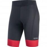 C3 Lady Short Tights + Black / Hibiscus Pink