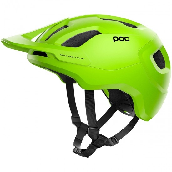 Casque POC Axion Spin Fluorescent Yellow / Green Matt