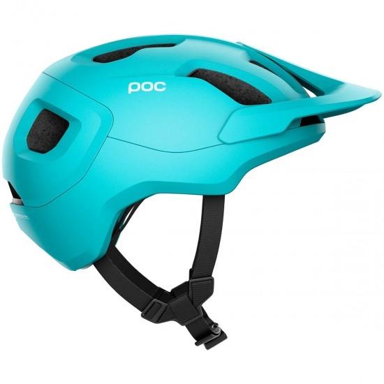 Casco POC Axion Spin Kalkopyrit Blue Matt