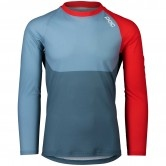 POC MTB Pure LS Calcite Blue / Prismane Red