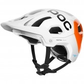POC Tectal Race Spin NFC Hydrogen White / Fluorescent Orange AVIP