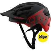 TROY LEE DESIGNS A1 MIPS Classic Black / Red