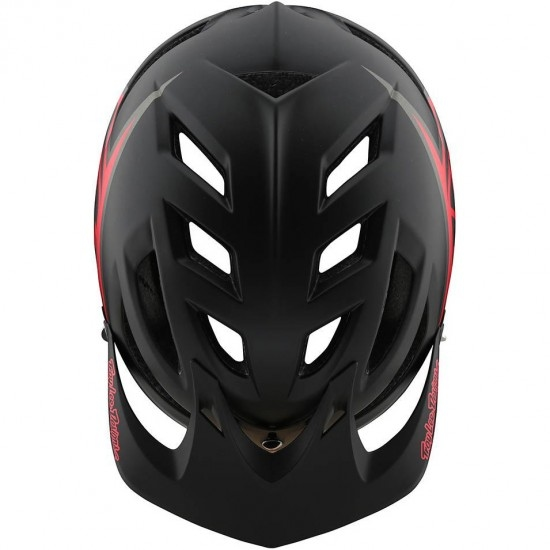 Casco TROY LEE DESIGNS A1 MIPS Classic Black / Red