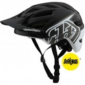TROY LEE DESIGNS A1 MIPS Classic Black / White