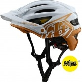 TROY LEE DESIGNS A2 MIPS Decoy Pearl White / Gold