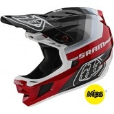 TROY LEE DESIGNS D4 Carbon MIPS Mirage Sram Black / Red