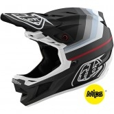 TROY LEE DESIGNS D4 Composite MIPS Mirage Black / Silver
